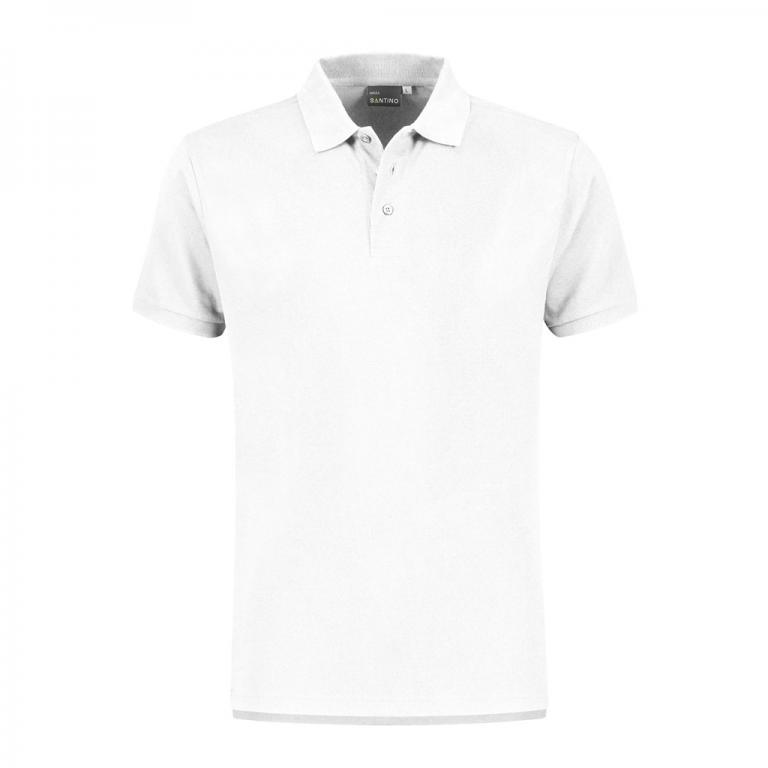 Poloshirt Monza wit