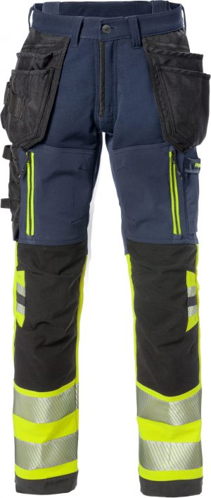 129516 HIGH VIS Stretchbroek Fristads 171