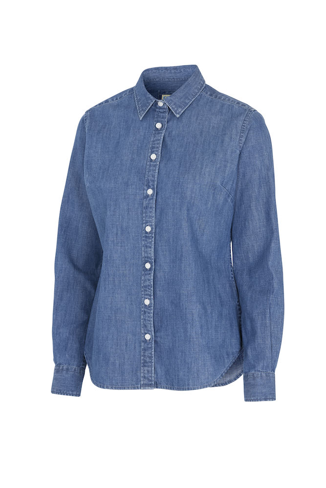 141035 Denim overhemd Lady