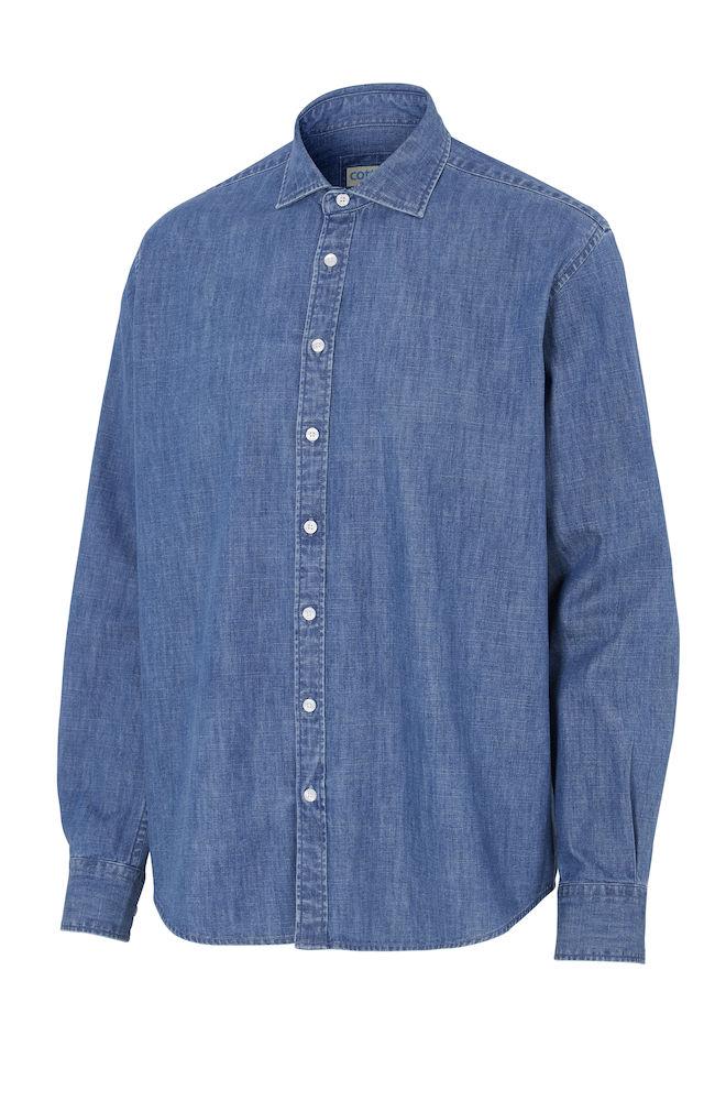 141036 Denim overhemd