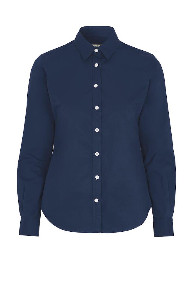 141037 Twill overhemd lady marine