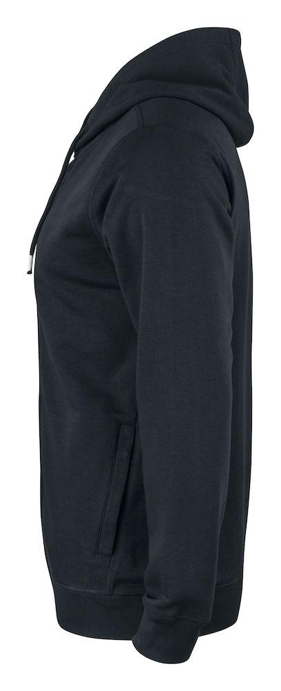 021004 Premium OC Hoody full zip 99 zwart