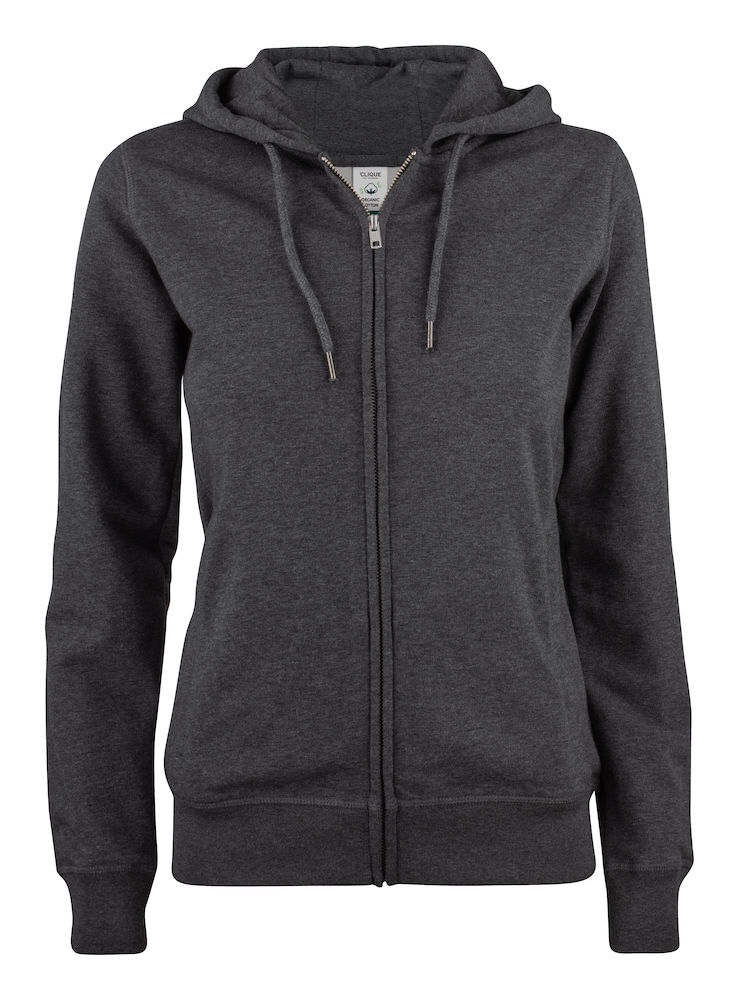 021005 Premium OC Hoody full zip Ladies 955 antraciet