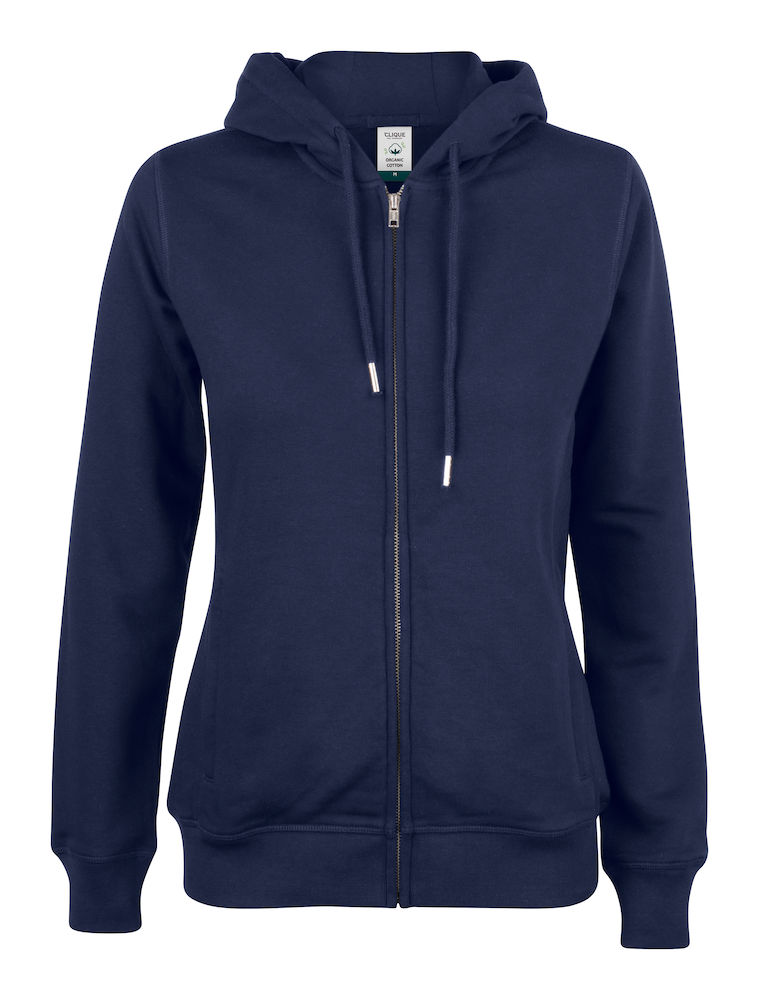 021005 Premium OC Hoody full zip Ladies 580 dark navy