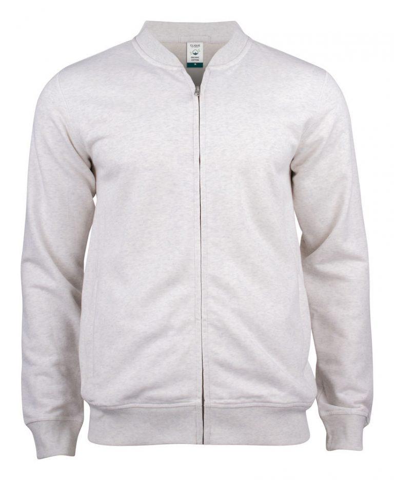 021006 Premium OC cardigan 925 nature melange