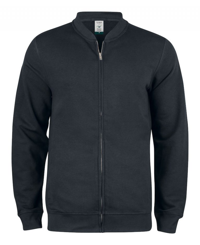 021006 Premium OC cardigan 99 zwart