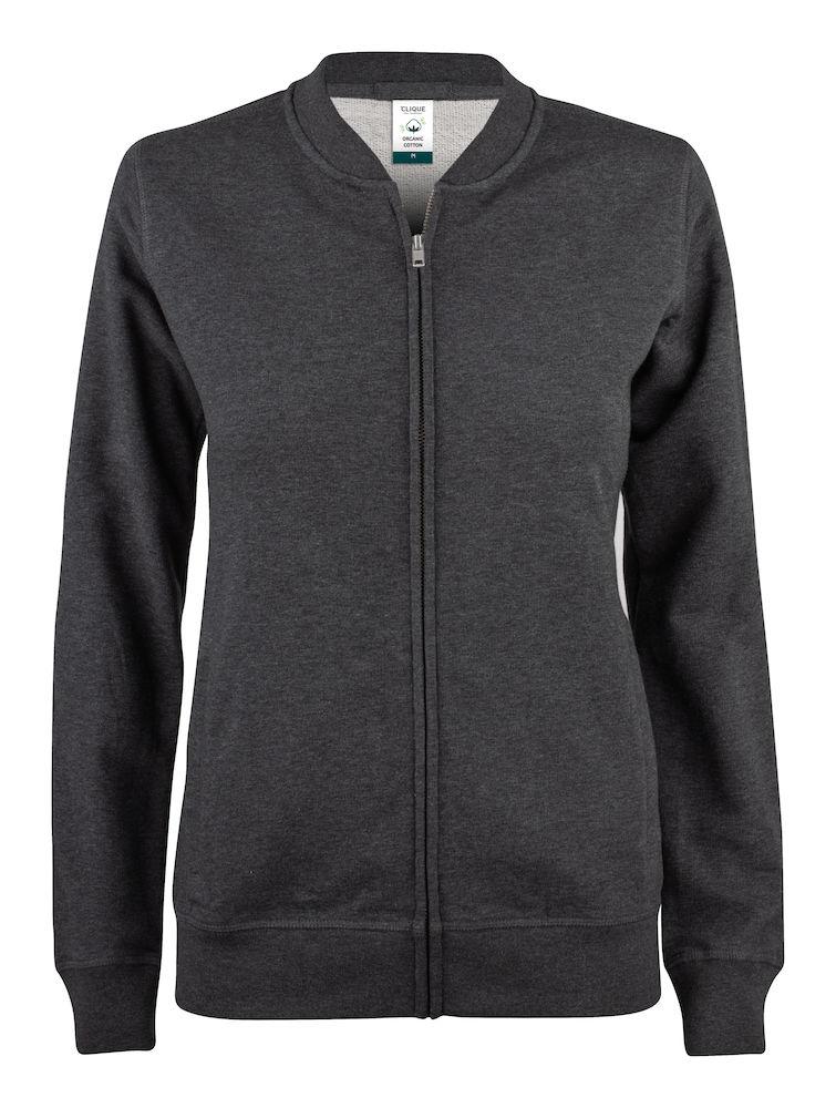 021007 Premium OC cardigan ladies 955 dark grey