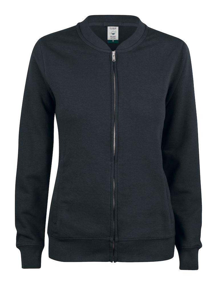 021007 Premium OC cardigan ladies 99 zwart