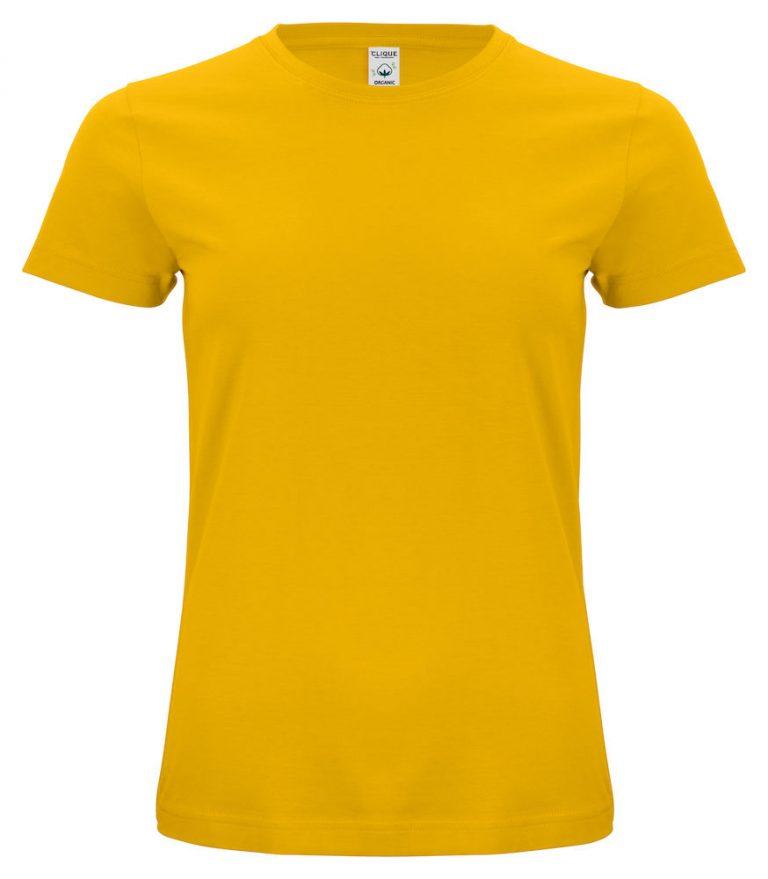 029365 Classic OC T-shirt ladies 10 Lemon