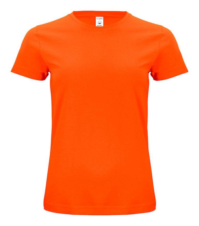 029365 Classic OC T-shirt ladies 175 oranje