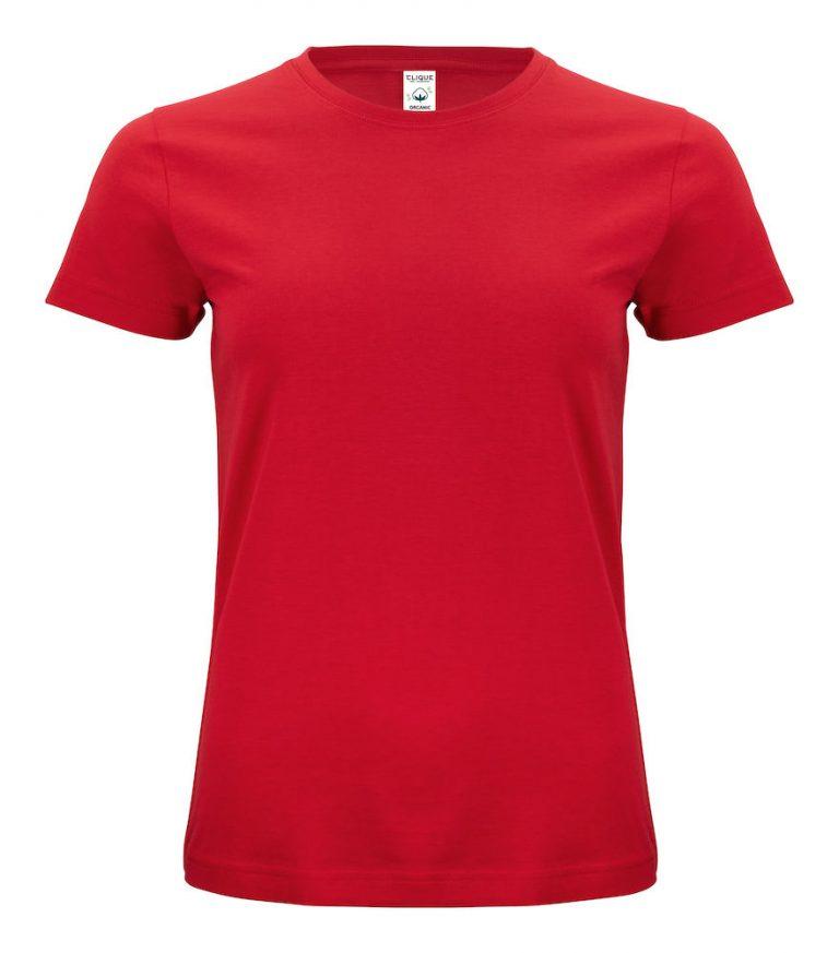 029365 Classic OC T-shirt ladies 35 rood