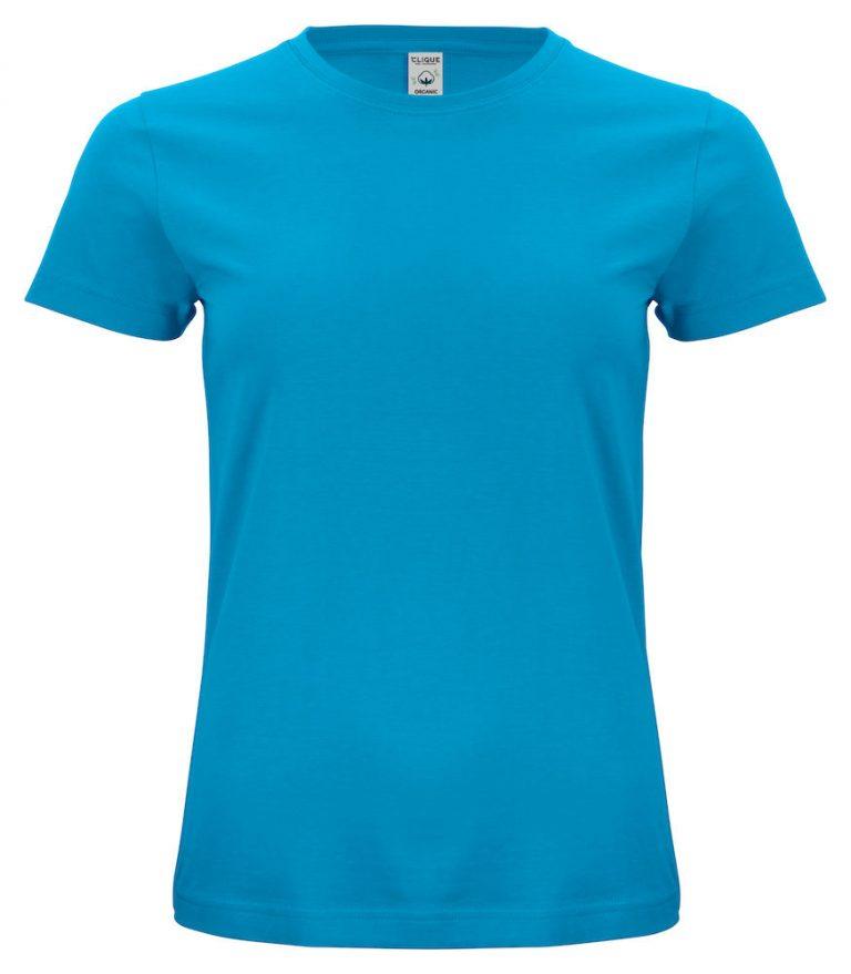 029365 Classic OC T-shirt ladies 54 Turquoise