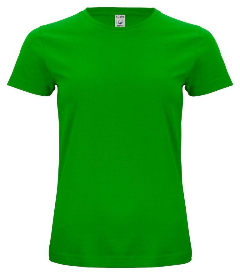 029365 Classic OC T-shirt ladies 605 appelgroen