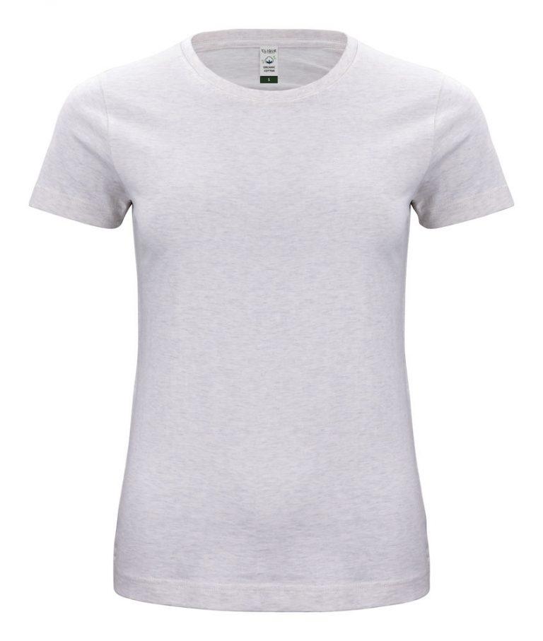 029365 Classic OC T-shirt ladies 925 nature melange