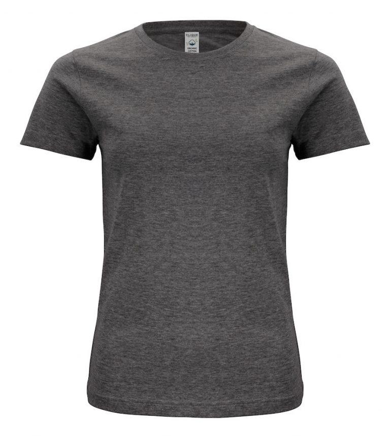 029365 Classic OC T-shirt ladies 955 antraciet