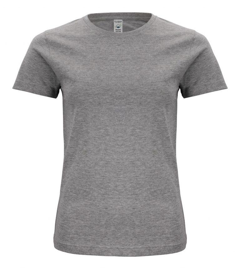 029365 Classic OC T-shirt ladies 95 Grijs melange