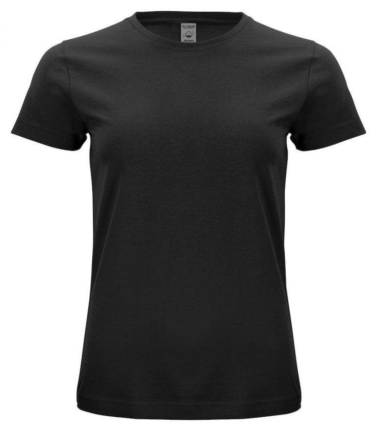 029365 Classic OC T-shirt ladies 99 zwart