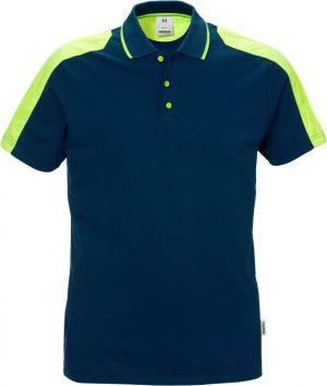 111262 Poloshirt 7448 donkerblauw