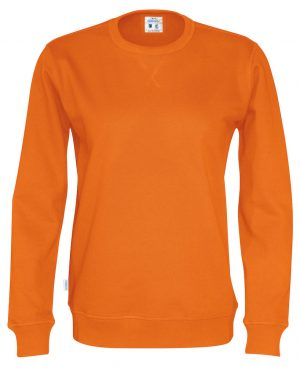 141003 CottoVer oranje sweater