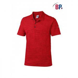 1712 BP polo voor haar & hem Space-dyed 81 rood