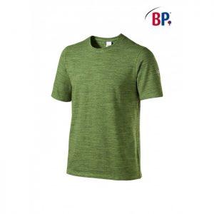 1714 BP T-shirt voor haar & hem Space-Dyed 178 groen