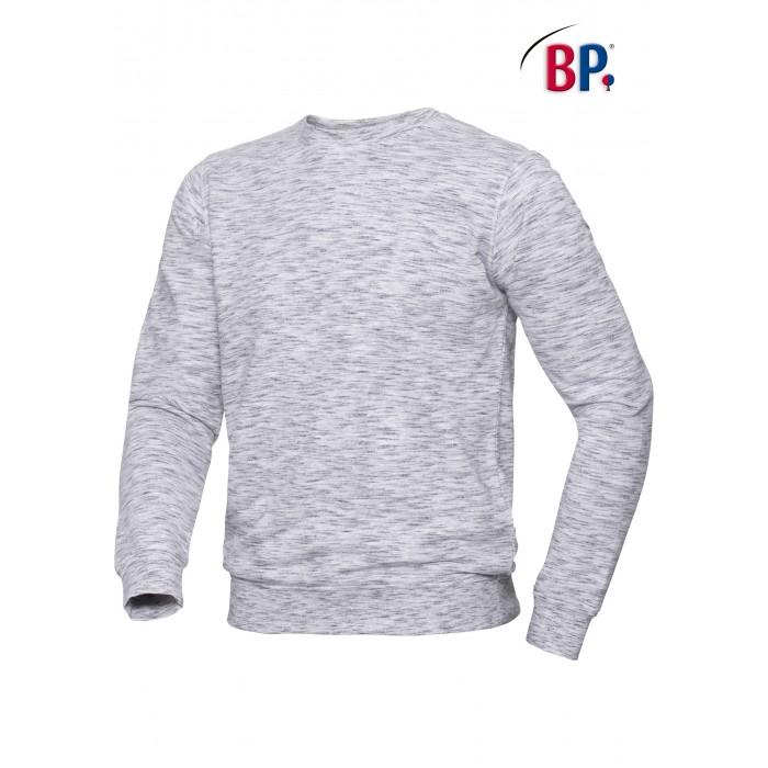 1720 BP Sweatshirt voor haar & hem Space-Dyed 21 wit