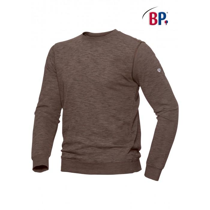 1720 BP Sweatshirt voor haar & hem Space-Dyed 400 valk