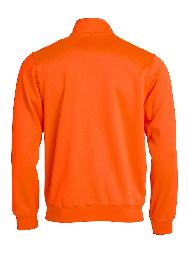021028 Oranje Basic Cardigan kids
