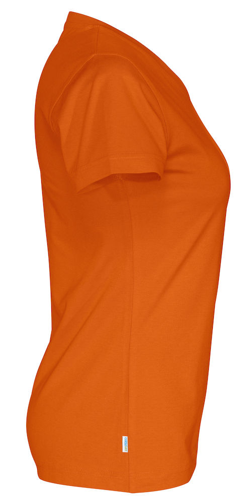 141021 CottoVer Oranje T-shirt Lady