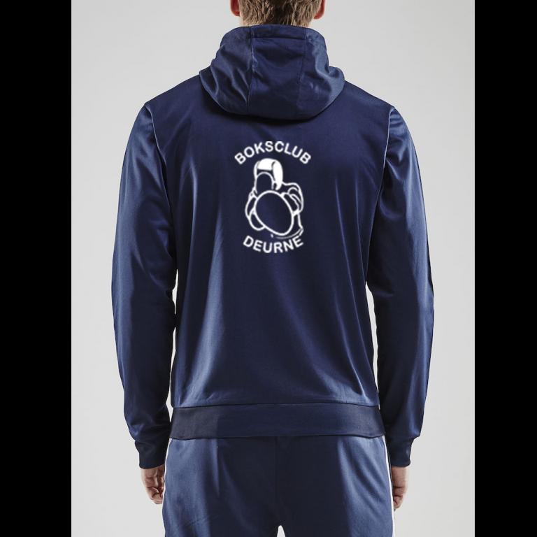 Heren hooded trainingsjack (Boksclub Deurne)