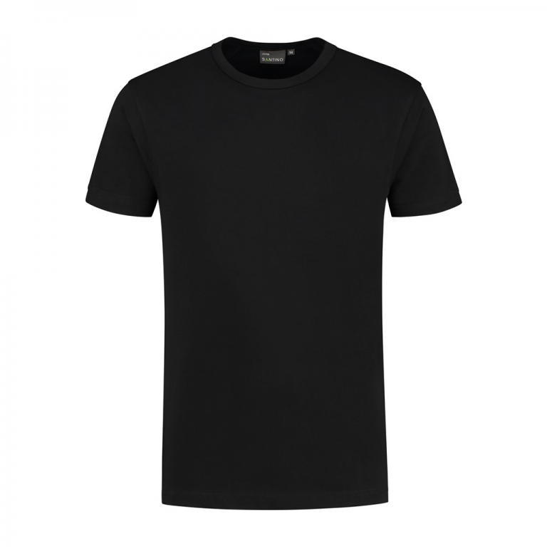T-shirt Jacob zwart