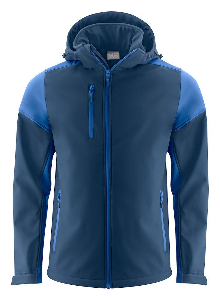 2261065 Prime Softshell jas navy/kobalt