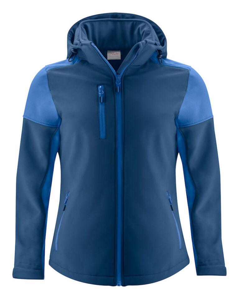 2261066 Prime Softshell jas Lady marine/kobalt