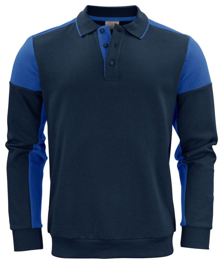 2262060 Prime Polosweater navy/kobalt